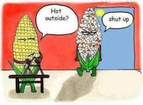 Hot outside?