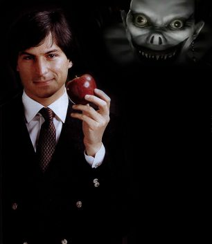 I've been thinking about this since I first saw this picture of Steve Jobs