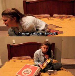The daily struggle as a female.