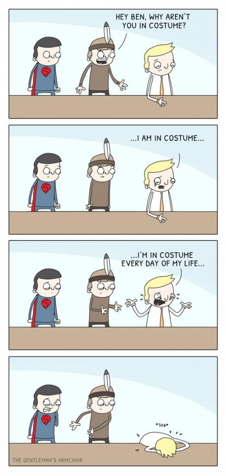 This Year's Costume