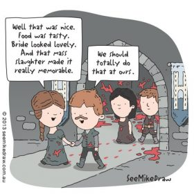 A Game of Thrones comic