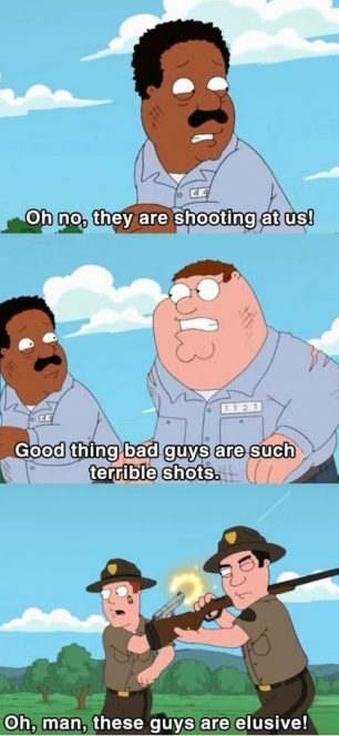 Action movies logic