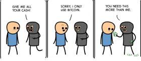 You Need This More Than Me – Bitcoin Crisis