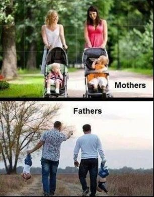 Difference between father and mother!