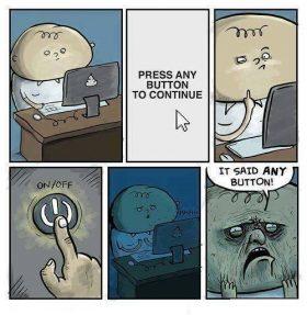 press any btton