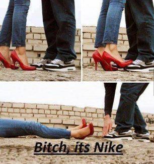 It's Nike!