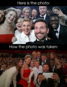 Ellen DeGeneres' Oscars Selfie Is The Most Retweeted Tweet Of All Time