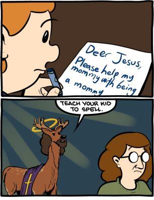 Deer Jesus