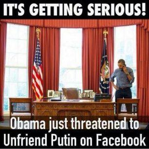 America's recent threat to Putin