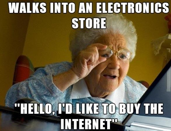 Ladies and Gentleman, My Friend's Grandmother