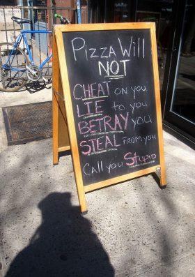 Pizza: The best relationship partner
