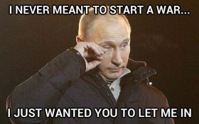 Poor, misunderstood Putin