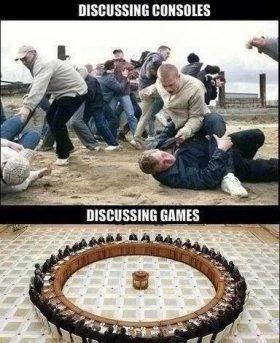 Discussing!