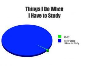 How I've always studied for finals