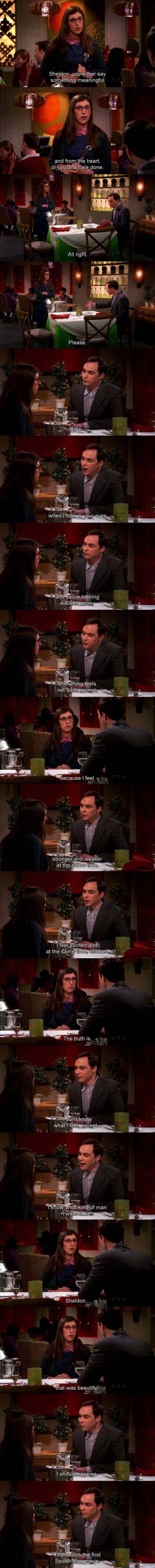 Oh Sheldon…
