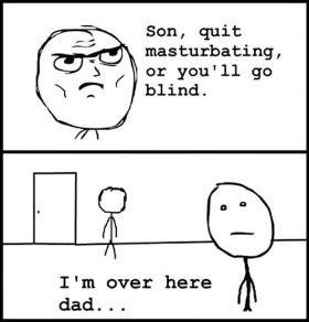 Oh dad…
