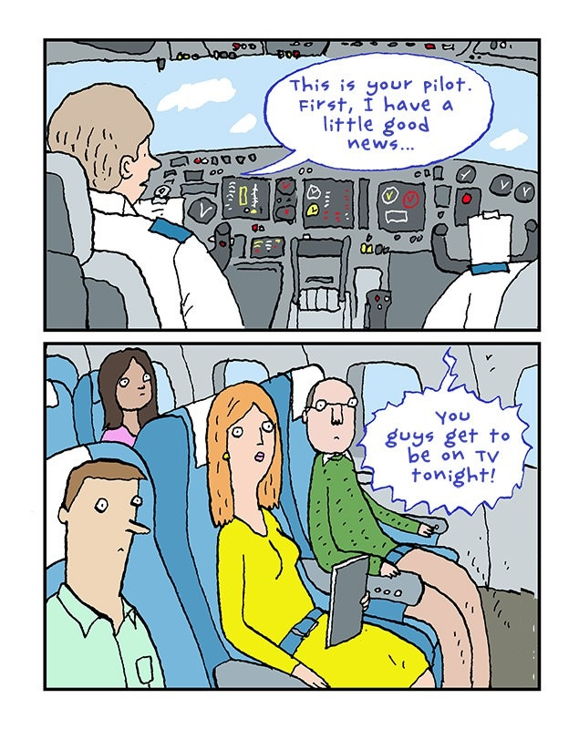 This is your pilot…