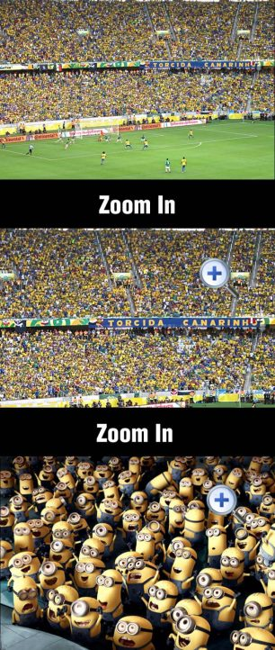 Just some Brazilian football fans