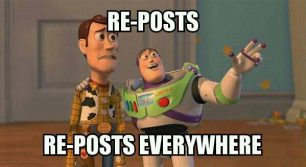 How I see world cup posts…