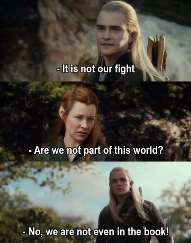 Legolas the truth master