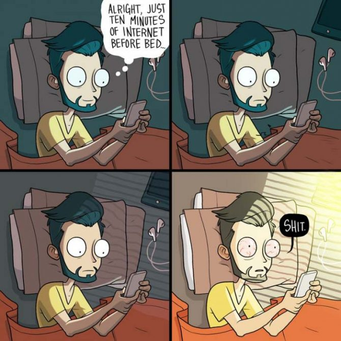 Why do I do this every single night?